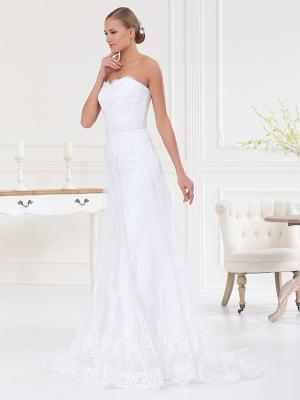 Платье X'Zotic. Цвет: белый