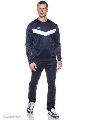 Спортивный костюм Umbro. Цвет: темно-синий
