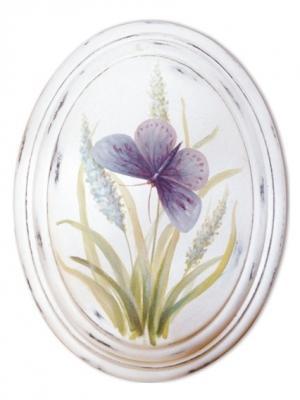 Картина - репродукция Сиреневая бабочка Magic Home. Цвет: белый