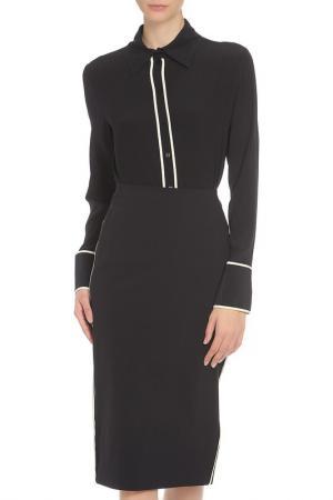 Блузка Liviana Conti. Цвет: черный, белый