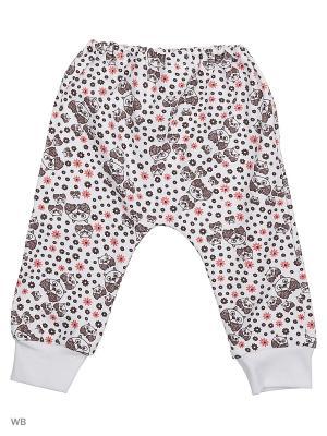 Ползунки Genstaro Baby. Цвет: светло-коричневый, белый
