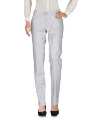 Повседневные брюки PHARD. Цвет: светло-серый