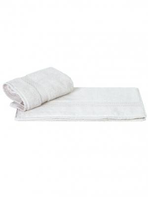Махровое полотенце 70x140 FIRUZE белое,100% хлопок HOBBY HOME COLLECTION. Цвет: белый