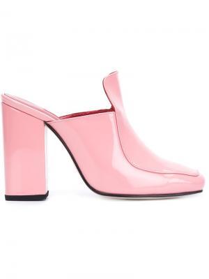 Munise mules Dorateymur. Цвет: розовый и фиолетовый