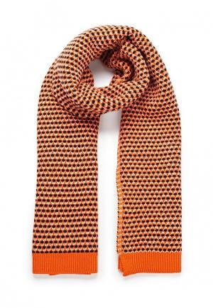Шарф Max&Co. Цвет: оранжевый