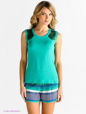 Домашний костюм CATHERINE'S. Цвет: зеленый