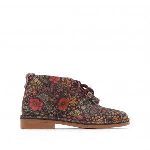 Ботинки из кожи Cyra Catelyn HUSH PUPPIES. Цвет: рисунок разноцветный