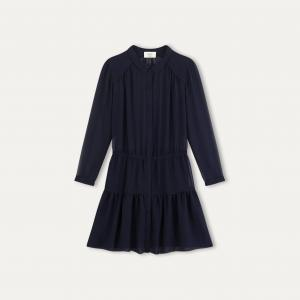 Платье SOFIA BA&SH. Цвет: темно-синий