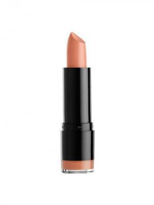 Кремовая губная помада ROUND LIPSTICK - PURE NUDE 518 NYX PROFESSIONAL MAKEUP. Цвет: светло-оранжевый