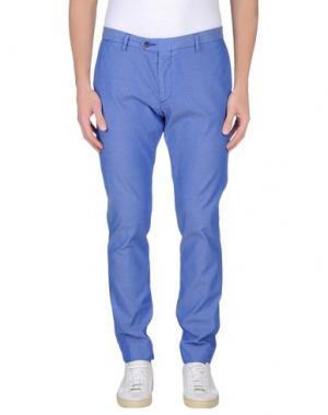 Повседневные брюки MAESTRAMI. Цвет: синий