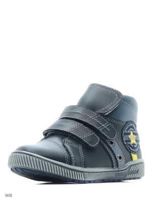Ботинки ортопедические ORTHOBOOM. Цвет: черный, желтый, серый