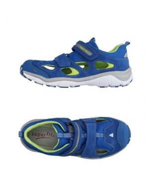 Низкие кеды и кроссовки SUPERFIT. Цвет: синий