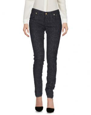 Повседневные брюки SHAFT. Цвет: свинцово-серый