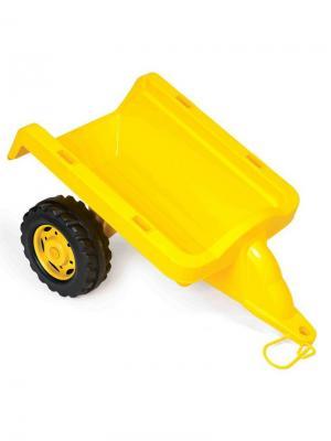 Пластиковый прицеп желтый DOLU. Цвет: желтый