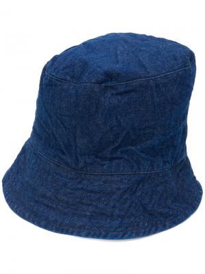 Шляпа с высокой тульей Engineered Garments. Цвет: синий