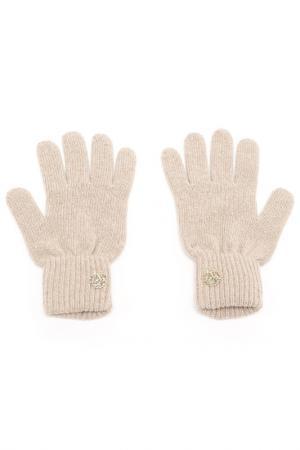 Перчатки Roberto Cavalli. Цвет: 510, beige бежевый