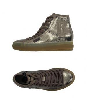 Высокие кеды и кроссовки RUCO LINE. Цвет: бронзовый