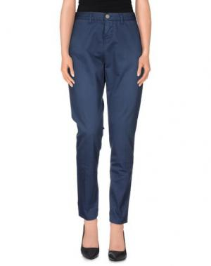 Повседневные брюки 2W2M. Цвет: грифельно-синий