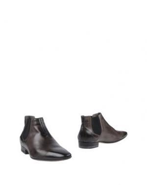 Полусапоги и высокие ботинки COSTUME NATIONAL HOMME. Цвет: свинцово-серый