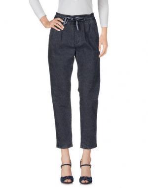 Джинсовые брюки FOUDESIR. Цвет: темно-синий
