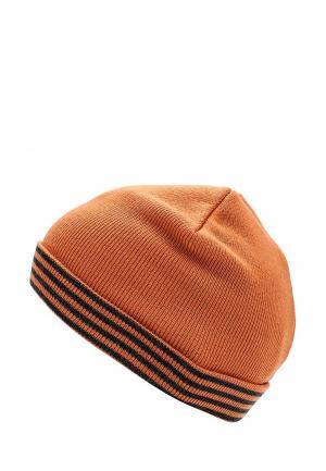 Шапка Button Blue. Цвет: оранжевый