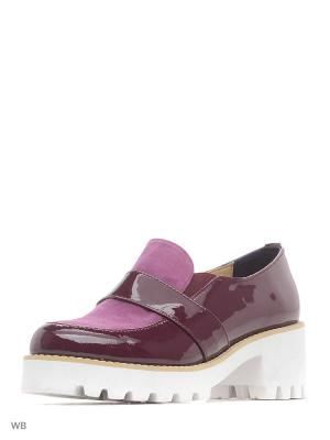 Ботинки ESTELLA. Цвет: темно-фиолетовый