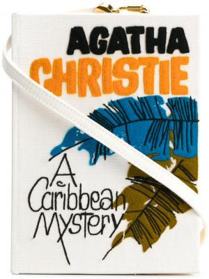 Клатч-книгаCaribbean Mistery Olympia Le-Tan. Цвет: белый