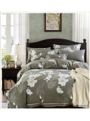 Комплект постельного белья ROMEO AND JULIET. Цвет: серый, светло-серый, белый