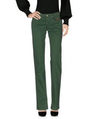 Повседневные брюки JAGGY. Цвет: зеленый