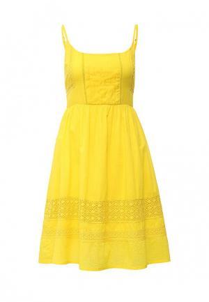 Сарафан Yumi. Цвет: желтый