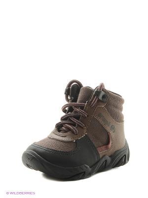 Ботинки Ortope. Цвет: темно-коричневый