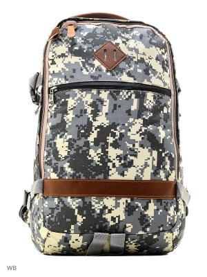 Рюкзак ISTOMA. Цвет: серый, белый