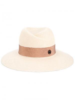 Шляпа Virginie Maison Michel. Цвет: телесный
