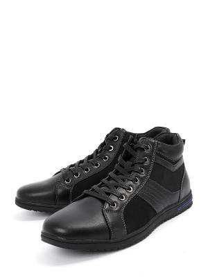 Ботинки Berten.. Цвет: черный