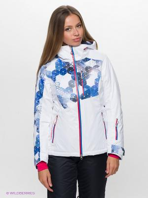Куртка Stayer. Цвет: белый, синий