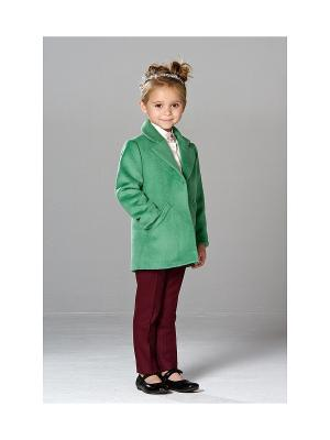 Укороченное пальто MORU. Цвет: зеленый