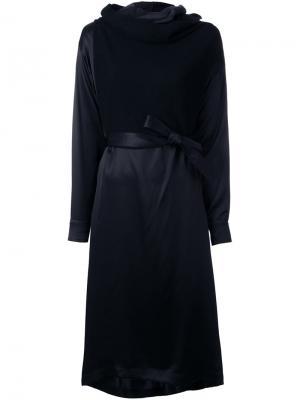 Платье Darcon из двух частей Nehera. Цвет: чёрный