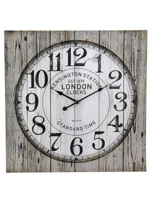 Часы настенные Mitya Veselkov. Цвет: серый, белый