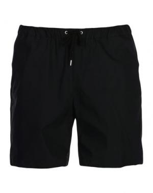 Пляжные брюки и шорты TEÄTORA. Цвет: черный