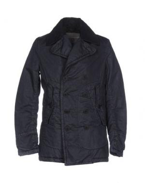 Пальто NEMEN. Цвет: темно-синий