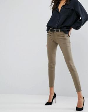 DL1961 Облегающие джинсы Jessica Alba X DL No.3 Instasculpt. Цвет: зеленый