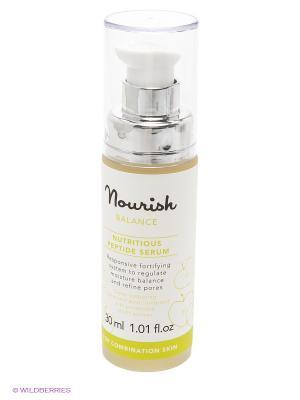Питательная сыворотка для смешанного типа кожи Balance Nutritious Peptide Serum, 30 мл Nourish. Цвет: прозрачный