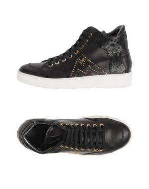 Высокие кеды и кроссовки ANDREA MORELLI. Цвет: черный