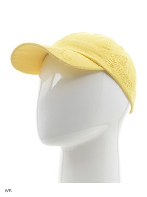 Бейсболка Colin's. Цвет: желтый
