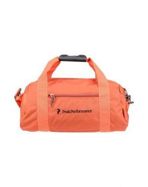 Дорожная сумка PEAK PERFORMANCE. Цвет: ржаво-коричневый