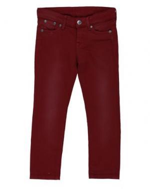 Джинсовые брюки PEPE JEANS. Цвет: красно-коричневый