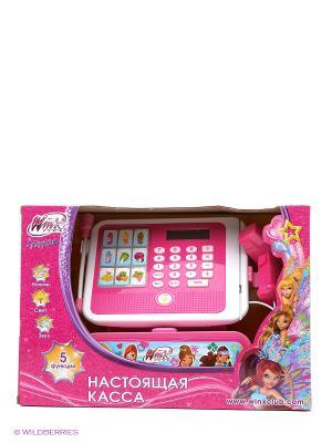 Касса  Winx Играем вместе. Цвет: розовый