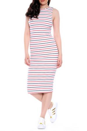 Платье Moda di Chiara. Цвет: white, red, blue