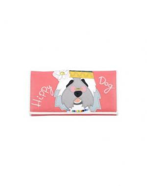 Бумажник TUA BY BRACCIALINI. Цвет: коралловый