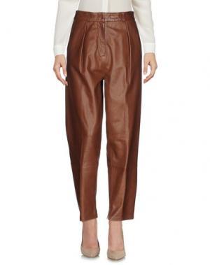 Повседневные брюки FEDERICA TOSI. Цвет: хаки